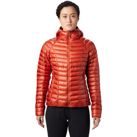 Mountain Hardwear Ghost Whisperer/2 Capuchon Jas Dames, dark clay